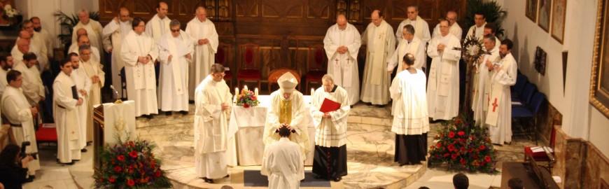 Momento de la ordenación
