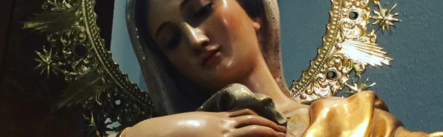 Virgen Inmaculada Colegio SS.CC. Martín de los Heros